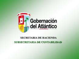 os de creada - Gobernación del Atlántico
