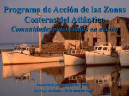 Programa de Acción de las Zonas Costeras del Atlántico