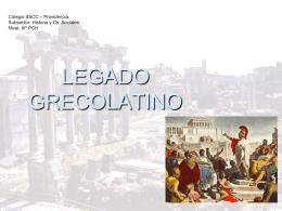 LEGADO DE ROMA - SSCC Providencia