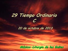 Salmo 120. Tiempo Ordinario 29 C