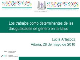 Ponencia de Lucia Artazcoz