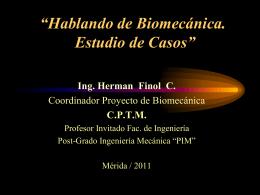 Ing. Herman Finol C.