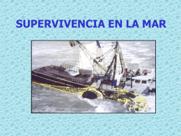 SUPERVIVENCIA EN LA MAR