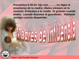 Madres de influencia - Iglesia Del Nazareno La Roca