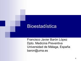 breve01 - Bioestadística