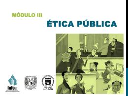 Ética en el servici.. - Instituto de Acceso a la Información Pública y