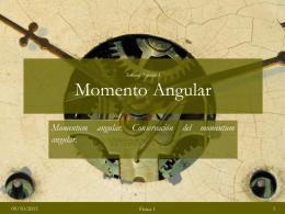momentum angular - ensmafisica2012