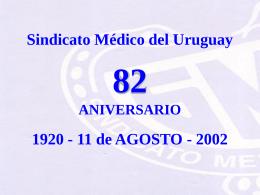 Ejercicio Profesional - Sindicato Médico del Uruguay
