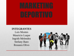 Diapos Marketing Deportivo