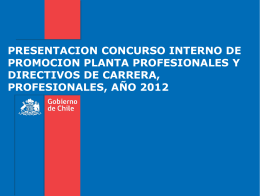 Slide 1 - Servicio de Salud Aconcagua