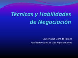 Habilidades-Negociación