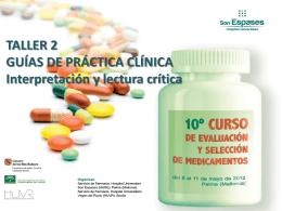 Guías de Práctica Clínica (GPC): Interpretación y