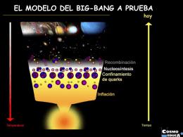 Origen y Evolución del Universo - Instituto de Astrofísica de Canarias