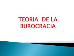 TEORIA_DE_LA_BUROCRACIA