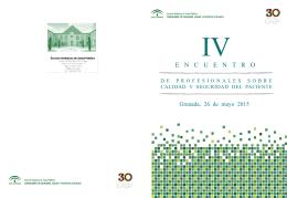 Programa - Escuela Andaluza de Salud Pública