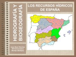 Recursos hídricos de España