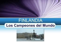 FINLANDIA LOS CAMPEONES DEL MUNDO grupo