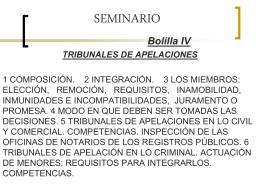 SEMINARIO IV Tribunal de Apelaciones