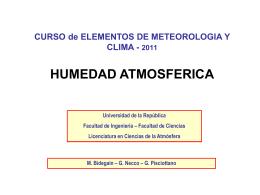 Bol3b_Humedad atmosférica - Departamento de Ciencias de la