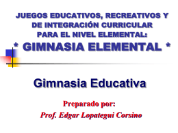 Gimnasia Educativa