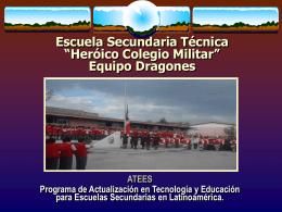 "Escuela Secundaria Técnica ""Heróico Colegio Militar"" Equipo"