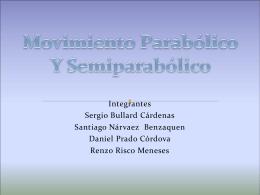 Movimiento Parabólico y Semiparabólico