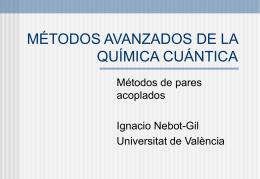 Clusters - Aula Virtual - Universitat de València