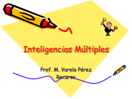 Múltiples Inteligencias