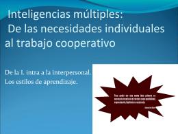 Inteligencias múltiples y los estilos de aprendizaje (71)