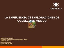 y México - Chilexporta Servicios
