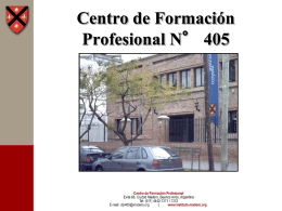 Centro de Formación Profesional N° 405 Evita 66