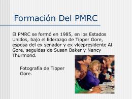 Formación Del PMRC