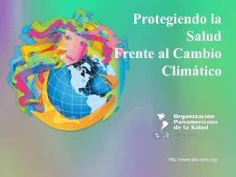 Protegiendo la Salud Frente al Cambio Climático
