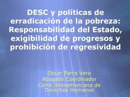 Los DESC en el marco de la jurisprudencia interamericana