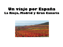 Un viaje por España (ESCRIBE EL LUGAR)