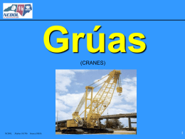 Grúas - NC Department of Labor