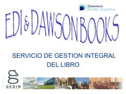 dawson books españa - Biblioteca de la Universidad de Cádiz