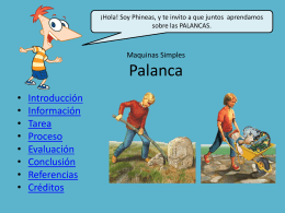 La Palanca - WordPress.com