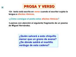 verso y métrica 1 – ( e.s.o.