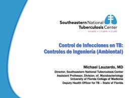 Control de Infecciones en TB - Southeastern National Tuberculosis