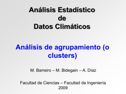 Clusters2009