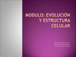ppt 1 Evolucion Celular
