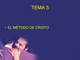 El método de Cristo-2