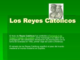 Los Reyes Católicos - Un-paseo-en-la-Alhambra