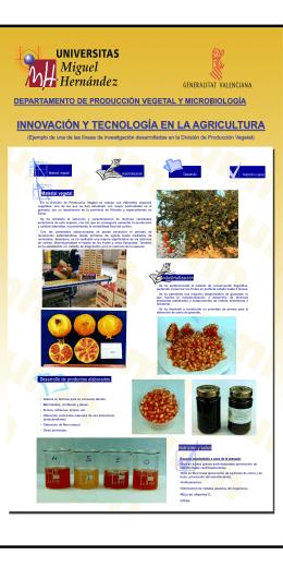 Diapositiva 1 - Departamento de Producción Vegetal y Microbiología
