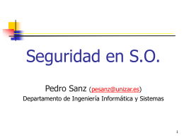 Seguridad en SO