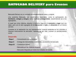 Batucada Delivery para Eventos