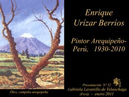 enrique urizar berrios - Holismo Planetario en la Web
