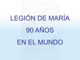 Legión de María 90 Aniversario