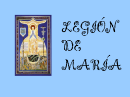 Ver presentación - Legión de Maria.